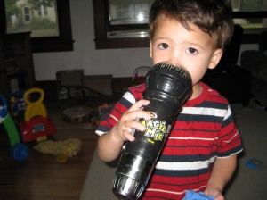 Magic mic in action